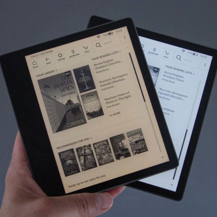 amazon new kindle oasis 2019